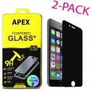 """Privacy Anti-Spy Real Tempered Glass Screen Protector Shield for 4.7"""" iPhone 7"""
