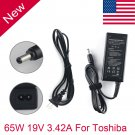 65W AC Adapter Power Charger for Toshiba Satellite L755-S5246 C655 PA3714U-1ACA