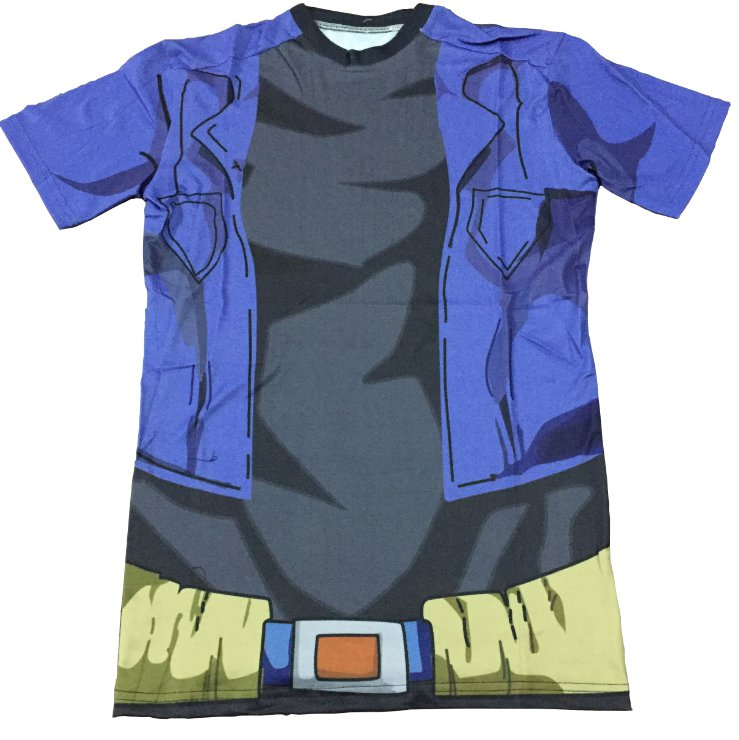 Dragon Ball Z � Cosplay Future Trunks Gear 3D T-Shirt