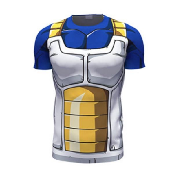 Dragon Ball Z � Vegeta Cell Saga Battle Saiyan Armor 3D T-Shir