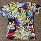 Classic Dragon Ball Z Goku Gohan Yamcha 3D T-Shirt