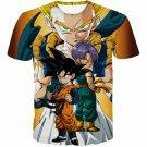 Goten Trunks Gotenks Super Saiyan 3D T-Shirt