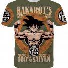Kakarot's Gym 100% Saiyan Goku Funny T-Shirt