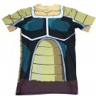 Elite Saiyan Warrior Nappa Battle Armor 3D T-shirt