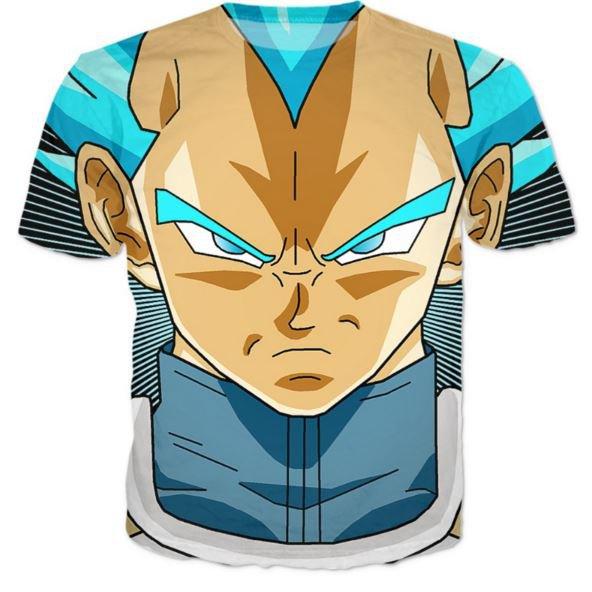 Super Saiyan God Super Saiyan Blue Vegeta Cool T-Shirt
