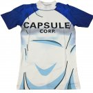 Teen Future Trunks Capsule Corp 3D White Blue T-Shirt