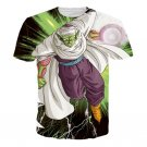 Green Z-Fighter Super Warrior Piccolo Dragon Ball T-Shirt