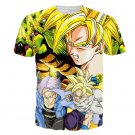 Z-Fighters Goku Trunks Gohan Shenron Dragon Ball T-Shirt