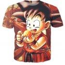 Kid Goku Dragon Ball 7 Stars Cute 3D Print T-Shirt