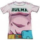 Bulma 97 Pink Dress Costume 3D T-Shirt for Women