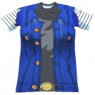 Lazuli Android 18 Blue Outfit Red Ribbon Army 3D T-Shirt
