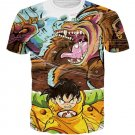 Kid Gohan Inner Power Great Ape Form 3D Graffiti T-shirt