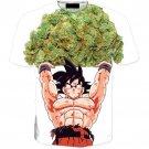 Dragon Ball Goku Ganja Weed Majiruana Spirit Bomb T-Shirt