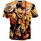Vintage 90s Dragon Ball Z Main Characters 3D T-Shirt