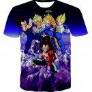 Prince Vegeta All Forms Super Saiyan Transformation 3D T-Shirt