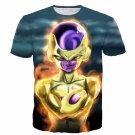 Golden Frieza Goruden Furiza Ultimate Evolution 3D T-Shirt