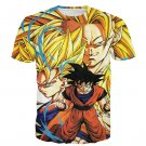 Kakarot Son Goku Forms Super Saiyan Transformation 3D T-Shirt