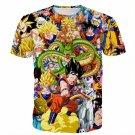 Dragon Ball Super Characters Heroes Goku Shenron Graphic 3D T- Shirt