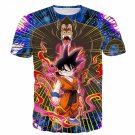 Great Ape Monkey Kid Goku Galaxy High Quality Battle 3D T- Shirt