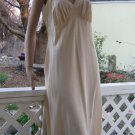 Simple Silky  Sweet Vintage Slip Cream Texsheen full Slip 38 M L