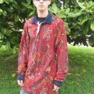 Ralph Lauren Chaps Velour Paisley men's Shirt L
