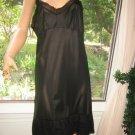Vintage Slip 50's Dutchmaid dress Slip 36 L Unique M Chiffon Lace