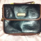 Capezio mini Briefcase Purse Satchel notepad case Black Brown Handle handbag