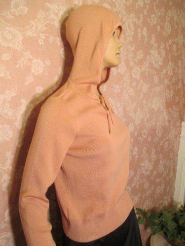 Ann Taylor Vintage Sweater Merino Cashmere Long Sleeve Hoodie S