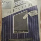 Vintage Top Star Collections German tights Pantyhose S M gray 60 denier