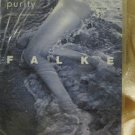 Vintage Tights Pantyhose Falke Purity XS Seamless One Piece taupe