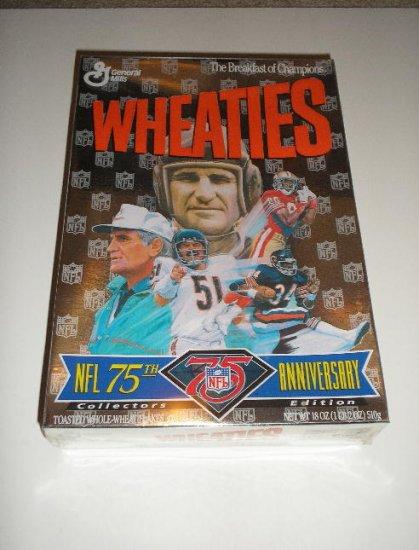 1994 NFL 75th Anniversary Wheaties Box      Free Ship !!!!