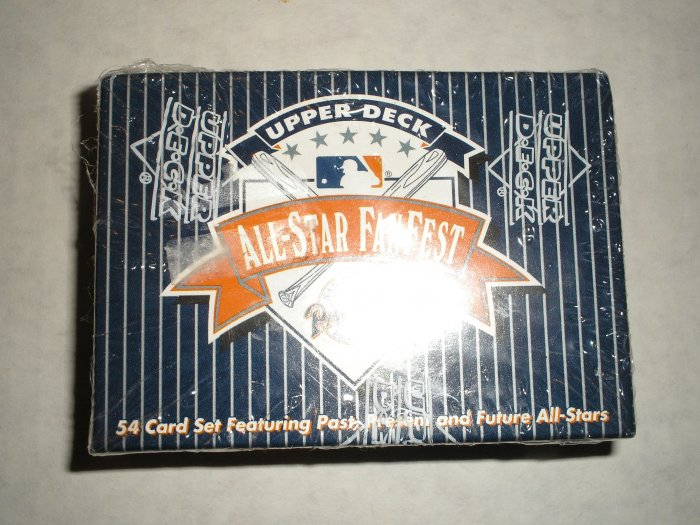 1992 Upper Deck All-Star Fan Fest Set