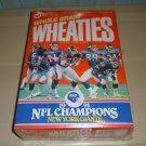 1991 Wheaties New York Giants NFL Champions Box,  Free Ship !!!!