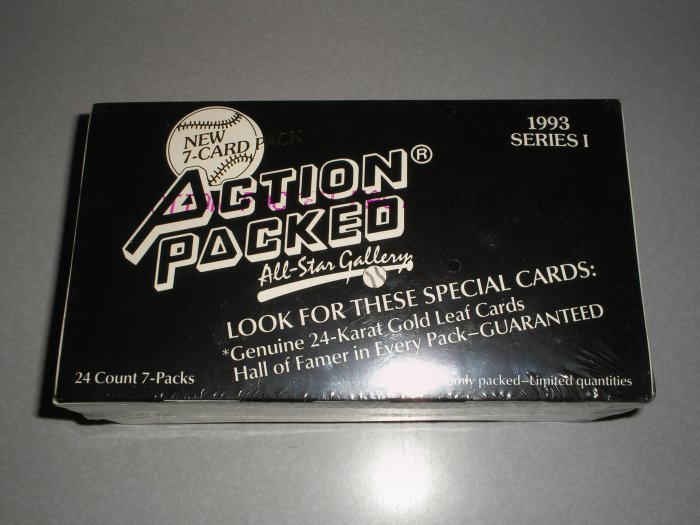 1993 Action Packed All Star Gallery Series 1 Unopened Box
