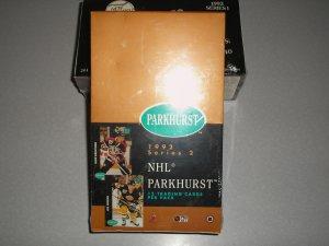 1992 Parkhurst Hockey Series 2 Unopened Box