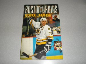 1991-92 Bruins Guide and Record Book