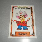 1991 Fievel Goes West Card Set