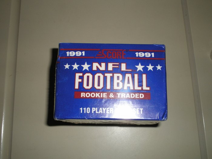1991 Score Football Rookies and Traded Set
