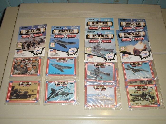 1991 Desert Storm Trading Cards