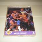 1990 Hoops Action Photos Magic Johnson 8 x 10