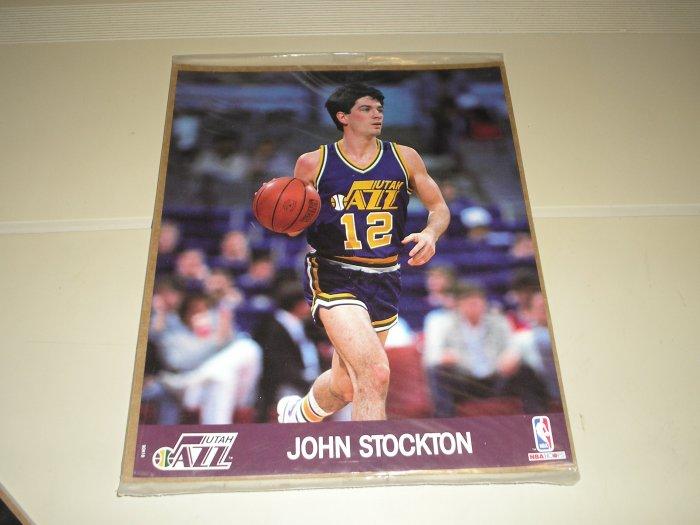 1990 Hoops Action Photos John Stockton 8 x 10