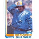 1982 Topps #585 Rollie Fingers HOF Pitcher