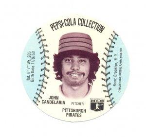 1977 Pepsi Collection John Candelaria