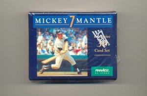 1992 Pinnacle Mickey Mantle 30 card set