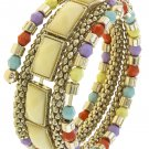 ACCENT SPRING WIRE WRAP BRACELET