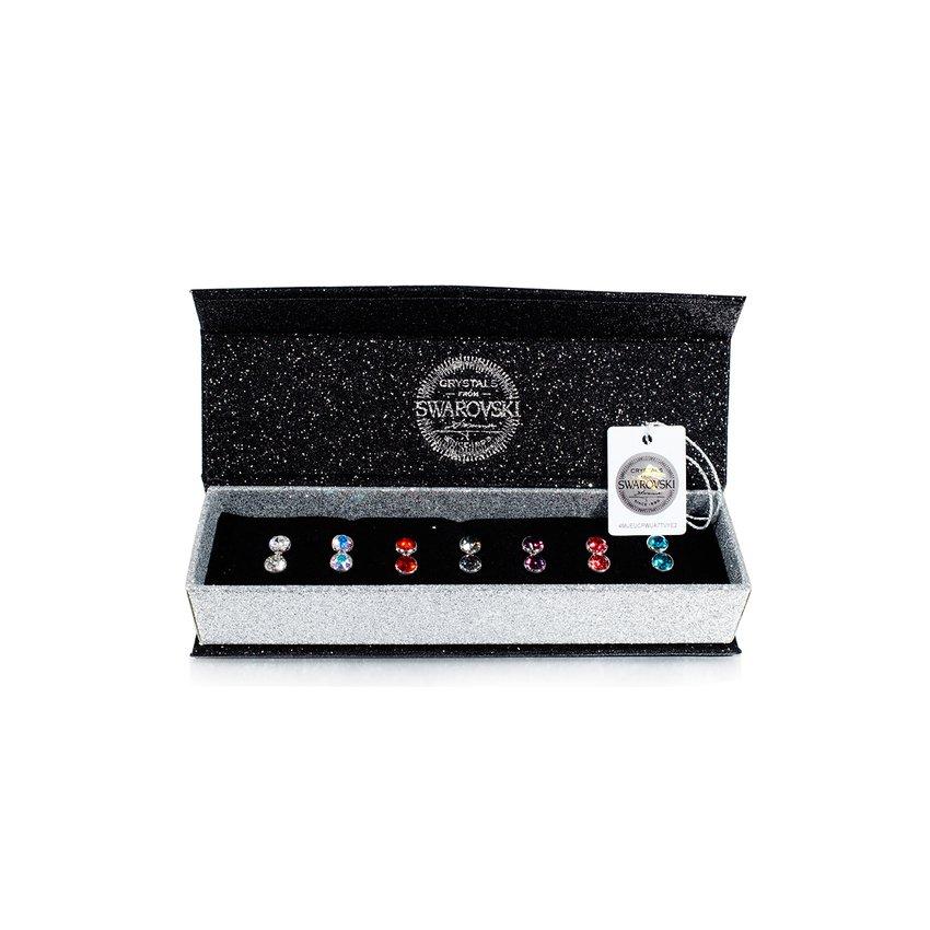 Swarovski Crystal - 7 Days Moon Earrings