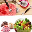 Perfect Spoon To Make Beautiful Fruit Desert