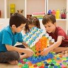 300 pcs Kid Baby Cute Snowflake Creative Building Blocks Educational Toys 2017