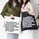 Vintage American Apparel Canvas AA Bag Cowboy Shopping Bag Casual Shoulder Bag E