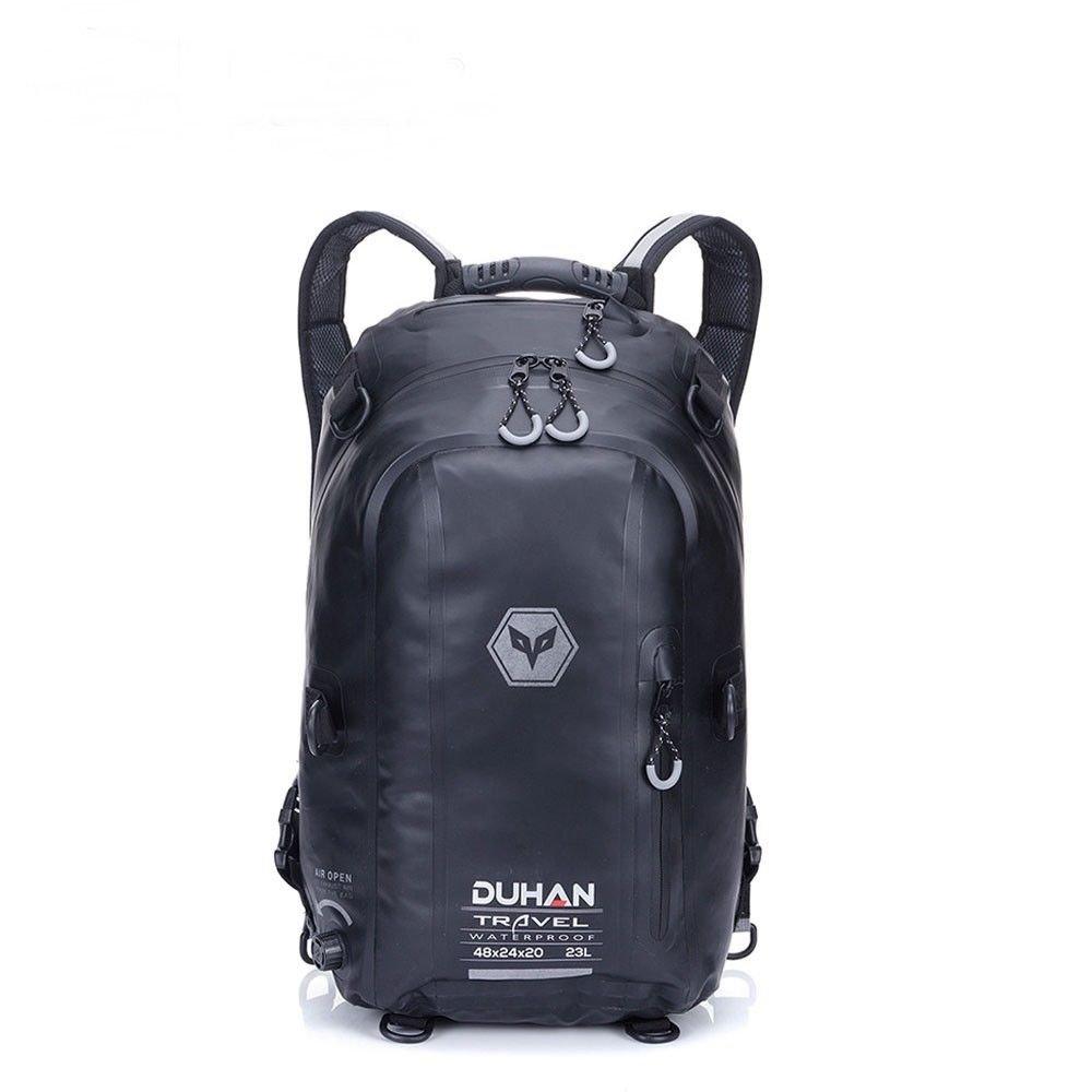 Backpack Bag waterproof helmet bag Motorcycle Rider Backpack Bag Black Large New